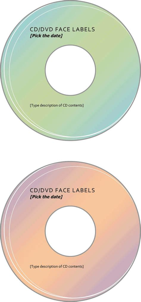 dvd label template download free premium templates
