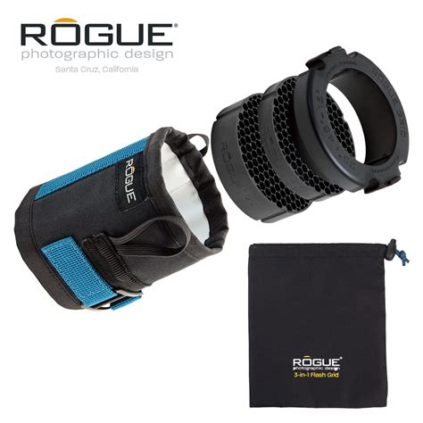 Set Fash 3in1 1 rogue 3 in 1 flash grid with 3 gel starter set rogue photographic design