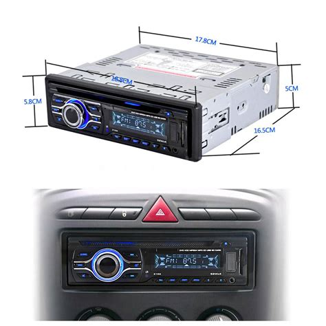 Car Radio Aux Port by 12v Car Cd Dvd Mp3 Player Stereo Radio Player Fm Aux Input