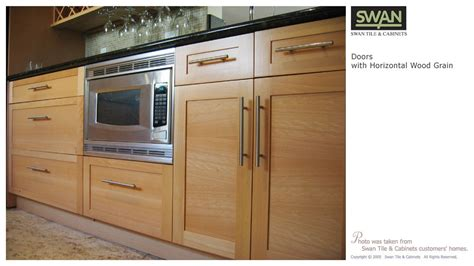 Wood Grain Kitchen Cabinets by Horizontal Wood Grain Kitchen Cabinets Different