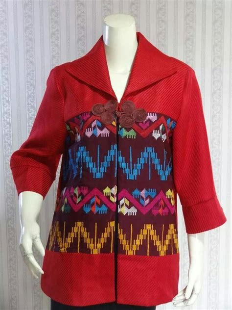 Dress Brokat Black Blazer Merah 42 best images about tenun modern on batik