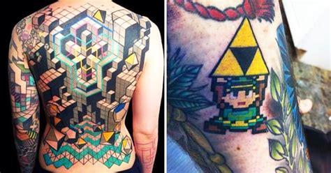 25 geekiest gamer tattoos tattoodo