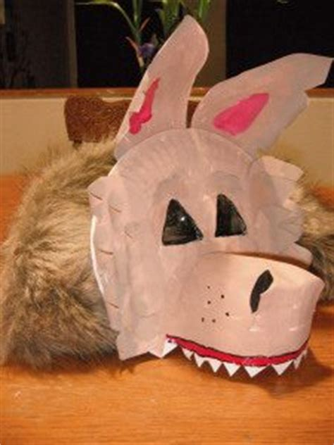 Wolf Paper Plate Craft - paper plate masks 62 creative ideas guide patterns