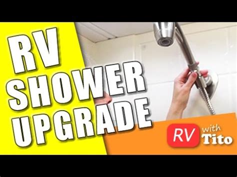 How To Get More Water In Shower by How To Get More Water Pressure In Your Rv Shower