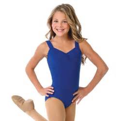 Capezio little girl royal blue tank gymnastics dance leotard 6 14