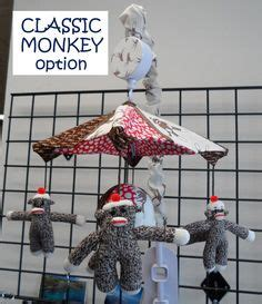 Sock Monkey Crib Mobile by This Soft Decorative Mermaid Doll Is Made Especially