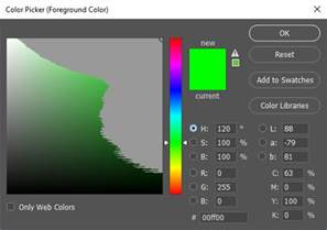 cmyk color picker color photoshop colour picker with only colours within