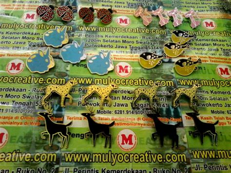Tag Name Tag Hewan Stainless 1 Sisi pesan tempah lencana pin enamel custom label pin pesan