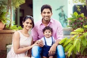 allu arjun and family allu sneha reveals it officially andhravilas spyder movie