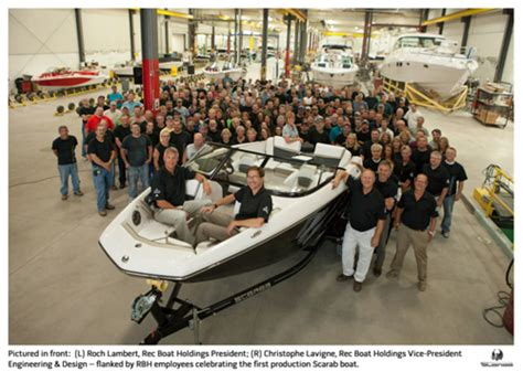 rec boat holdings rec boat holdings unveils scarab jetboat trade only today