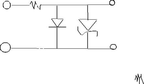 zener diode output waveform sketch the output waveform expected when a 100hz s chegg