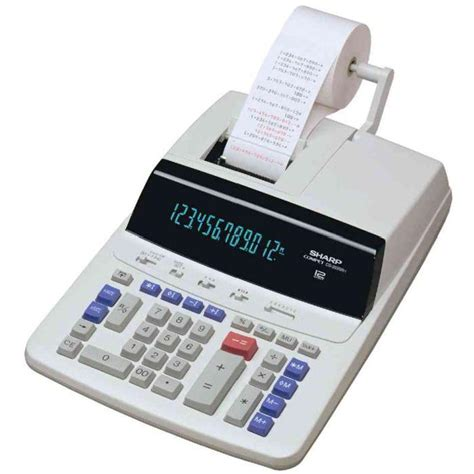 Calculatrice Imprimante De Bureau Mod 232 Le Cs 263 Achat Calculatrice De Bureau