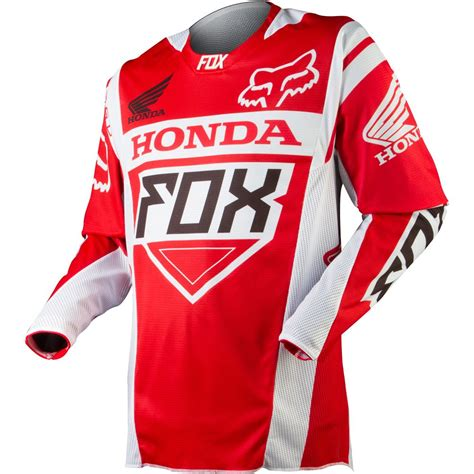 honda racing motocross apparel fox racing off road jerseys men 360 honda red jpg