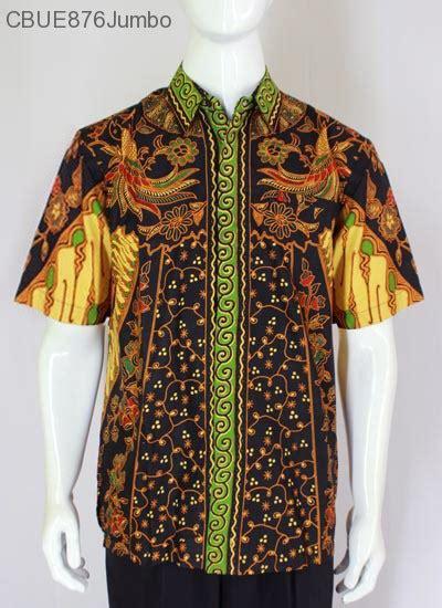 Kemeja Jumbo kemeja batik jumbo pendek blarak 9109 kemeja lengan pendek murah batikunik