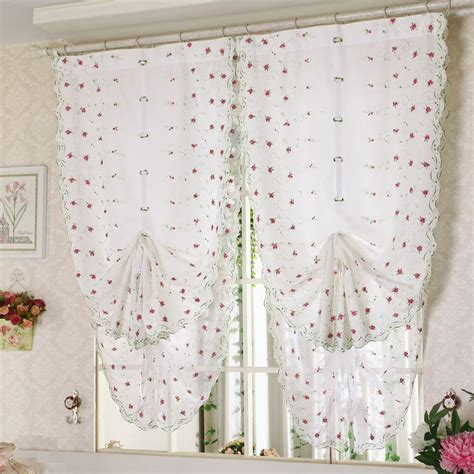 how to make drawstring curtains free shipping flower color tulle door window screens