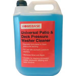 Patio Cleaner Homebase by Universal Patio Amp Deck Detergent 5l