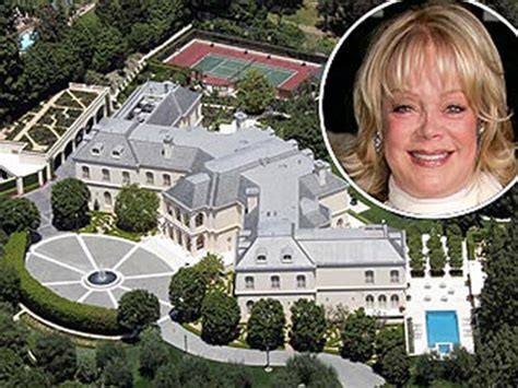 candy spelling house aaron spelling s mansion up for sale 150m
