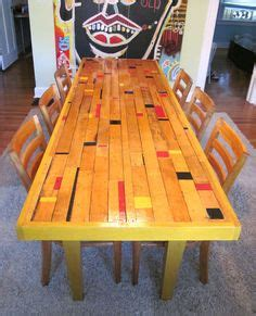 Dining Room Tables Made Out Of Doors Floors Made Out Of On Wine Crates Floors And