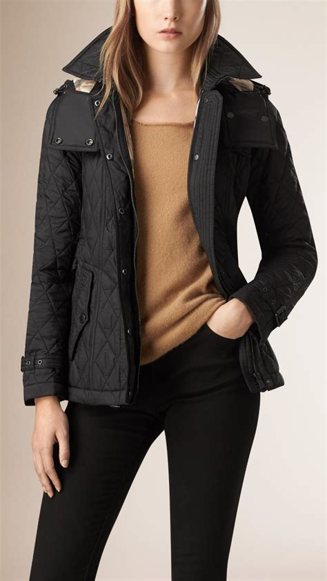 Burberry New Arrival 11835 burberry brit finsbridge quilted coat