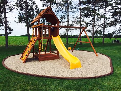rubber mat under swing set artificial turf fake grass safe rubber mulch playn