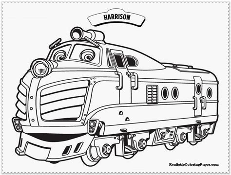 chuggington coloring train pages adventures of a group of trainees chuggington 17
