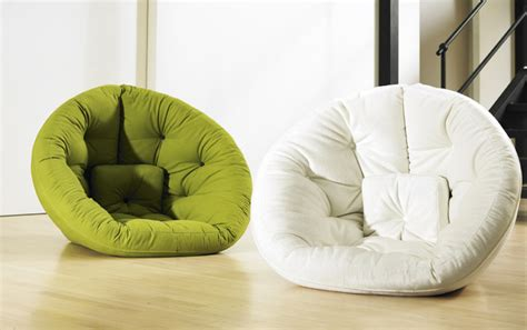Futon Nest by Comfortable Nest For Small Spaces