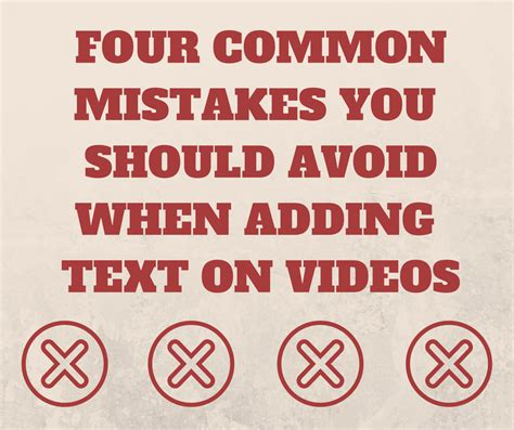 Common Date Mistakes You Should Avoid by 4 Common Mistakes You Should Avoid When Adding Text On