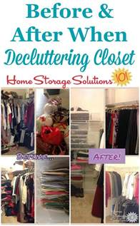 Marias Closet by How To Declutter Closet Shelves Drawers