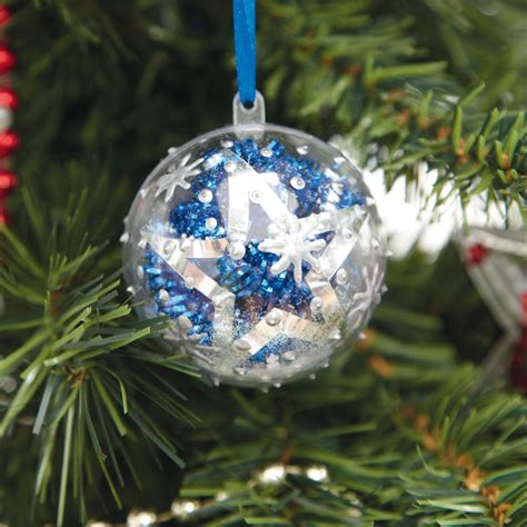 christmas ornaments by eb buy clear fillable gift ornaments 12pk tts
