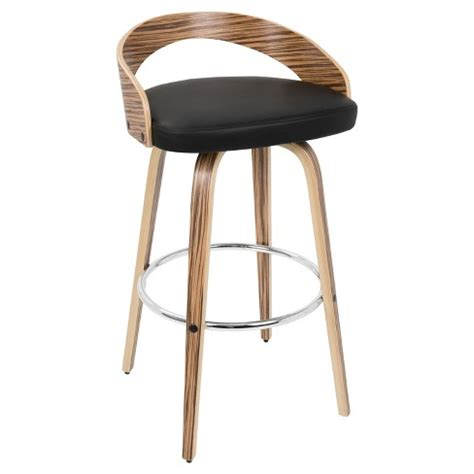 Lumisource Grotto Counter Stool by Grotto 30 Quot Barstool Wood Lumisource Target