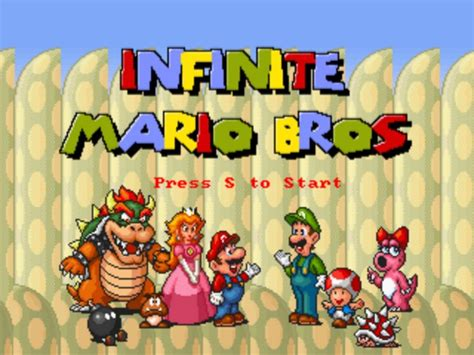 infinate mario infinite mario bros 187 mario play best mario