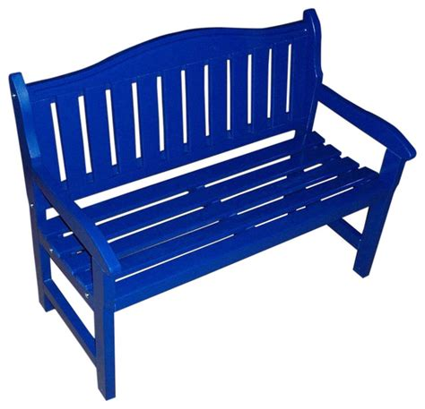 blue outdoor bench garden bench berry blue outdoor benches by prairie