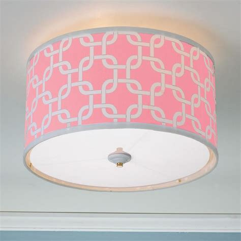 60 Best Images About Nursery Ideas On Pinterest Pink Ceiling Light Shades