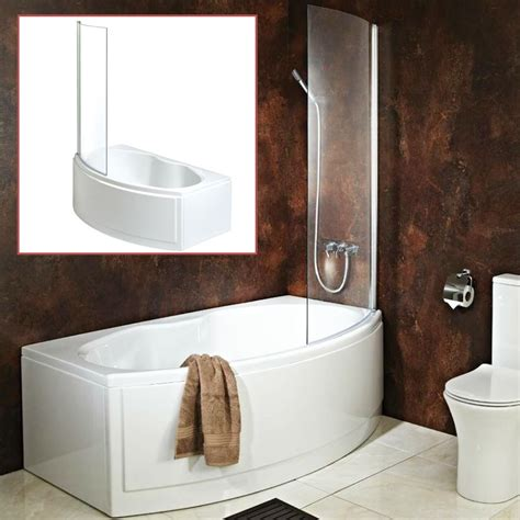 curved bathtub quot california quot bow fronted bath inc hinged curved shower