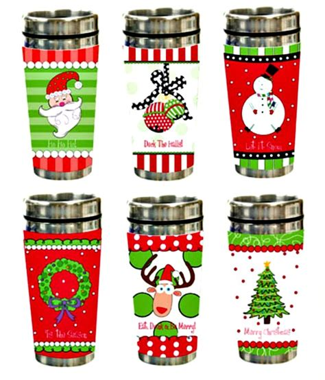 Christmas Holiday Travel Mug