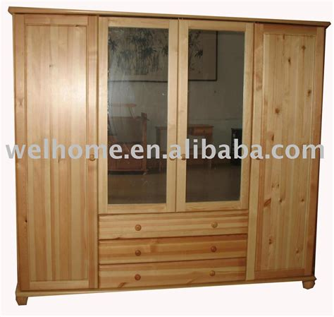wood armoire furniture f8301 wooden wardrobe wooden armoire bedroom furniture view wardrobe welhome product