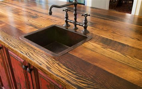 Barn Wood Countertops by Recycled Barn Wood Counter Top Barn Wood Ideas