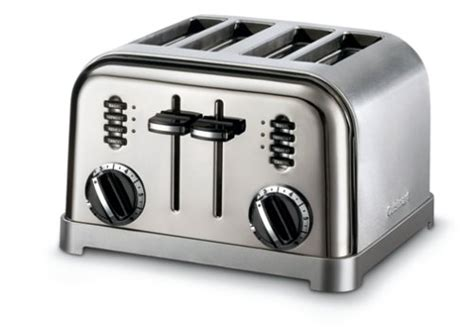 4 Slice Toaster Deals This Deals Cuisinart Cpt 180bch Metal Classic 4 Slice