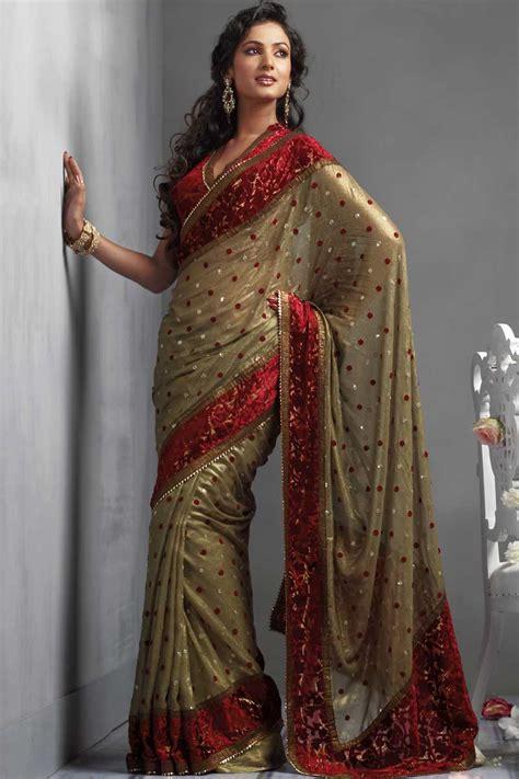 Saree Wardrobe by Fashion Statement Through Crepe Sarees Prlog
