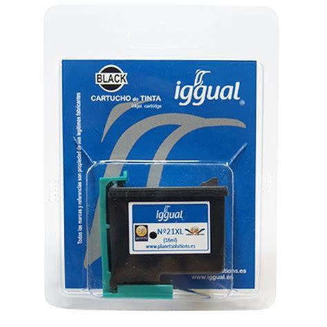 Tinta Printer Hp No 21 iggual hp 21xl c9351c cartucho reciclado negro