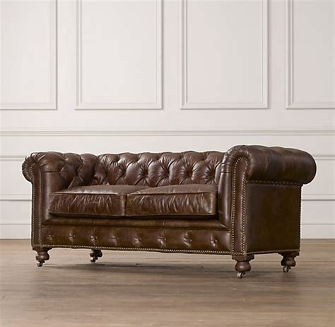 Kensington Leather Sofa Mini Kensington Leather Sofa