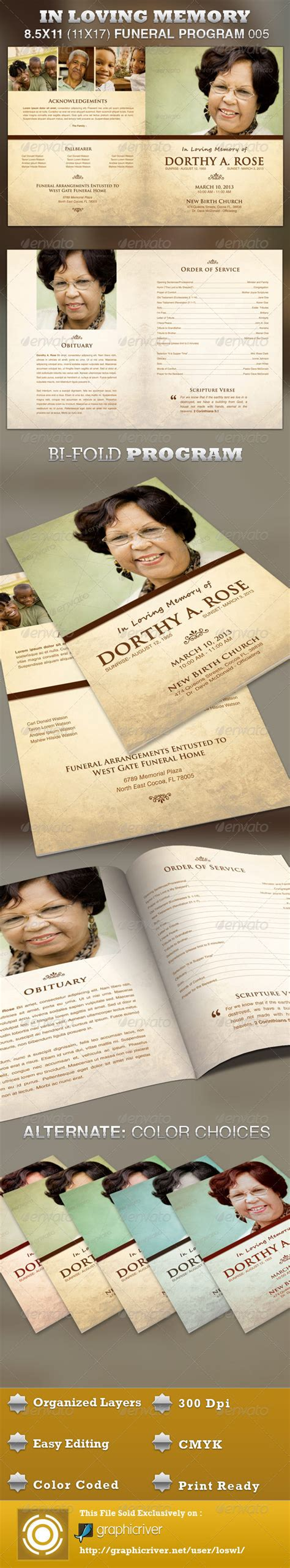 http graphicriver net item funeral service business card template 10998645 in loving memory funeral program template 005 graphicriver