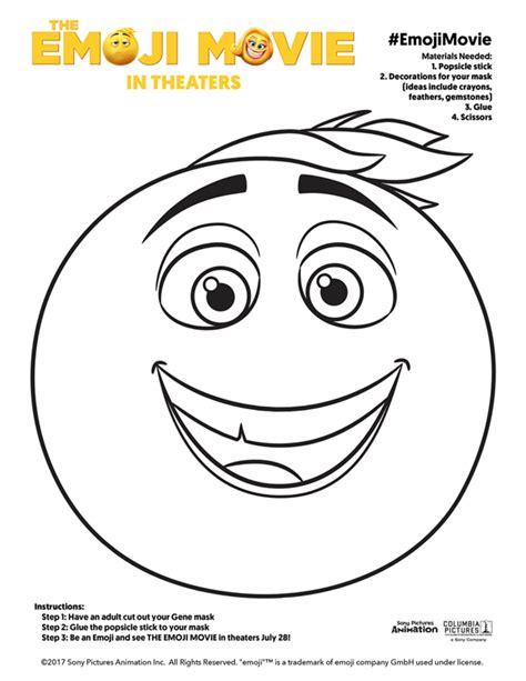 printable emoji mask 5 free printable emoji movie mask for kids