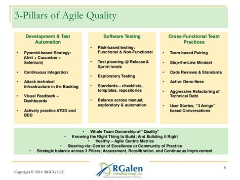agile strategy management techniques for continuous alignment and improvement esi international project management series books the three pillars approach to your agile test strategy