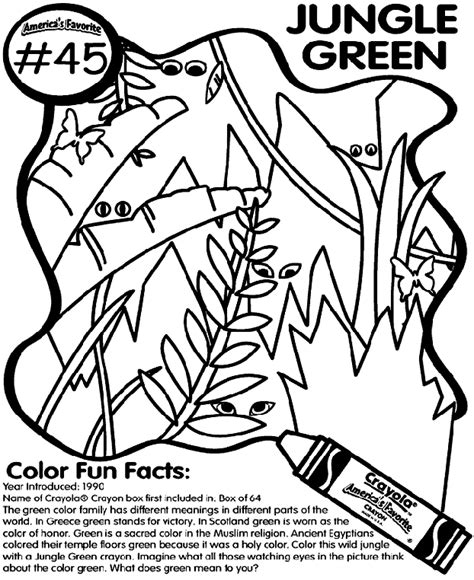 jungle junction digging treasure coloring page coloring no 45 jungle green coloring page crayola com