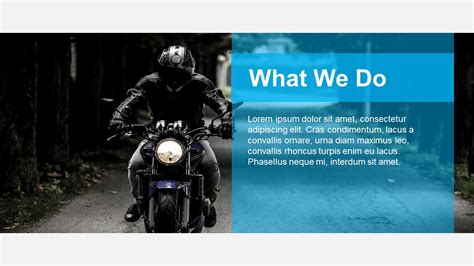Powerpoint Template Free Download Motorcycle Gallery Motorcycle Ppt Templates Free