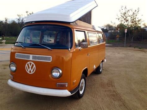 volkswagen vanagon cer buy new 1972 volkswagen westfalia in chula vista