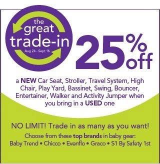toys r us trade in babies r us trade in event save 25
