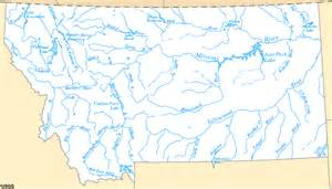 Montana Rivers Map by Watershed Systems Media Assets