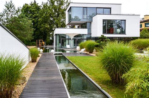 Garten Sichtschutz Modern Kunstrasen Garten